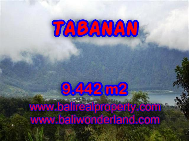 Magnificent Land for sale in Tabanan Bali, Mountain and lake view in TABANAN BEDUGUL - TJTB081