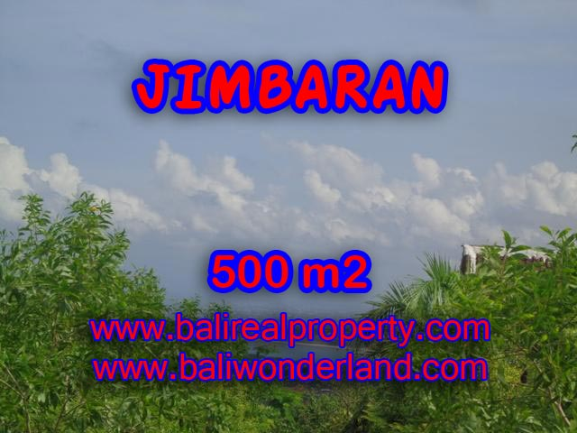 Land for sale in Jimbaran, Stunning view in Jimbaran Ungasan Bali – TJJI059
