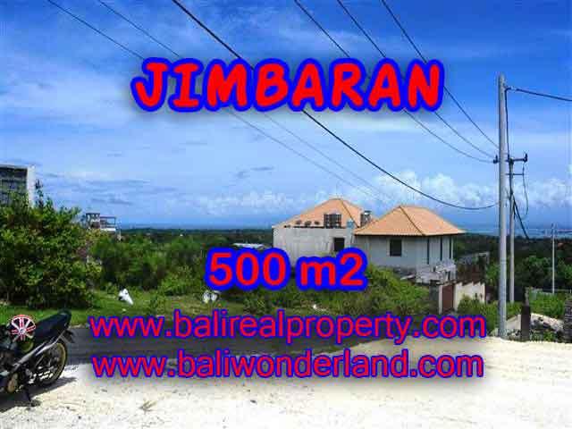 Land for sale in Jimbaran Bali, Wonderful view in Jimbaran Ungasan – TJJI066-x