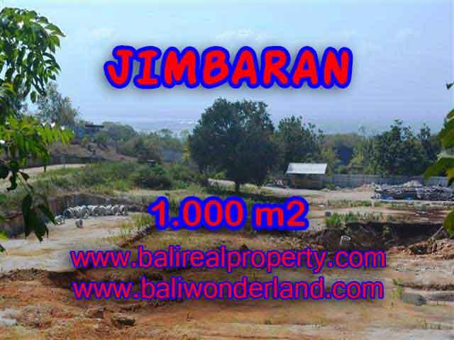 Land in Bali for sale, astounding view in Jimbaran Bali – TJJI073