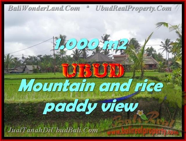 Stunning Property for sale in Bali land sale in Ubud Bali – TJUB424