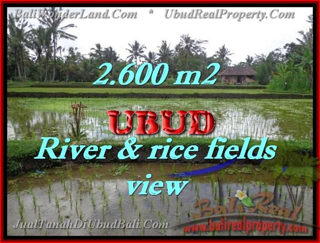 Outstanding Property in Bali for sale, land in Ubud for sale – TJUB421