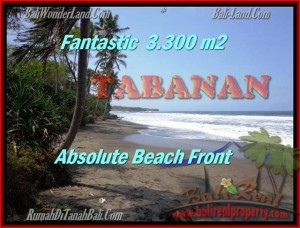 FOR SALE Magnificent PROPERTY 2,345 m2 LAND IN TABANAN BALI TJTB158