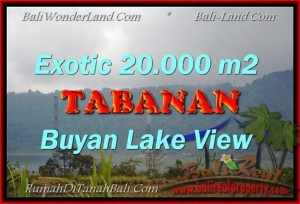 Magnificent 20,000 m2 LAND FOR SALE IN TABANAN BALI TJTB163