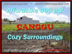 Affordable 300 m2 LAND FOR SALE IN CANGGU TJCG157