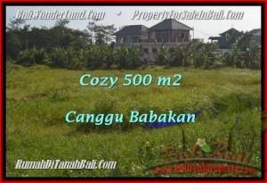 FOR SALE Magnificent 500 m2 LAND IN Canggu Batu Bolong  BALI TJCG179