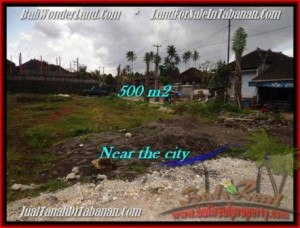 Magnificent PROPERTY 500 m2 LAND SALE IN TABANAN BALI TJTB201