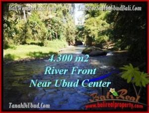Affordable 4,315 m2 LAND SALE IN UBUD TJUB499