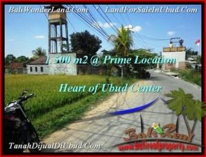 Magnificent 1,500 m2 LAND FOR SALE IN UBUD BALI TJUB508