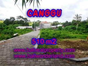 Affordable PROPERTY 510 m2 LAND FOR SALE IN CANGGU BALI TJCG150