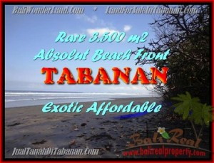 Magnificent 3.500 m2 LAND FOR SALE IN TABANAN BALI TJTB156