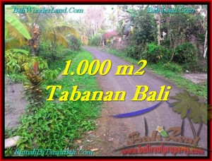 TABANAN 1,000 m2 LAND FOR SALE TJTB242