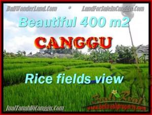 FOR SALE Beautiful 400 m2 LAND IN CANGGU TJCG156