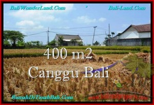 Affordable 400 m2 LAND IN CANGGU FOR SALE TJCG188