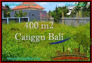 Affordable PROPERTY 400 m2 LAND FOR SALE IN CANGGU BALI TJCG189