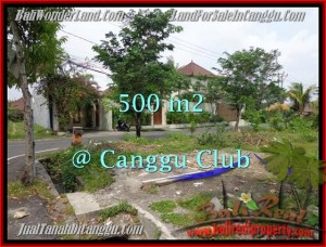 Exotic PROPERTY 500 m2 LAND IN CANGGU BALI FOR SALE TJCG176