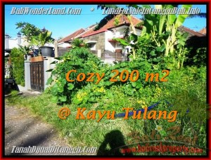 Beautiful PROPERTY CANGGU BALI 200 m2 LAND FOR SALE TJCG173