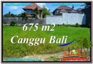 Beautiful PROPERTY CANGGU BALI 675 m2 LAND FOR SALE TJCG200