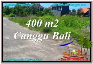 Magnificent PROPERTY 400 m2 LAND IN CANGGU BALI FOR SALE TJCG202