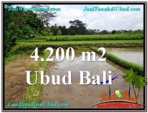 Beautiful PROPERTY Ubud Tampak Siring 4,200 m2 LAND FOR SALE TJUB561